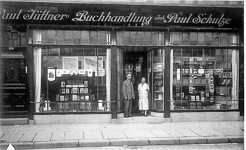 Buchhandlung Juettners Wernigerode Geschichte