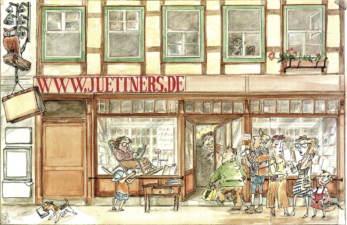 Buchhandlung Juettners Wernigerode Header