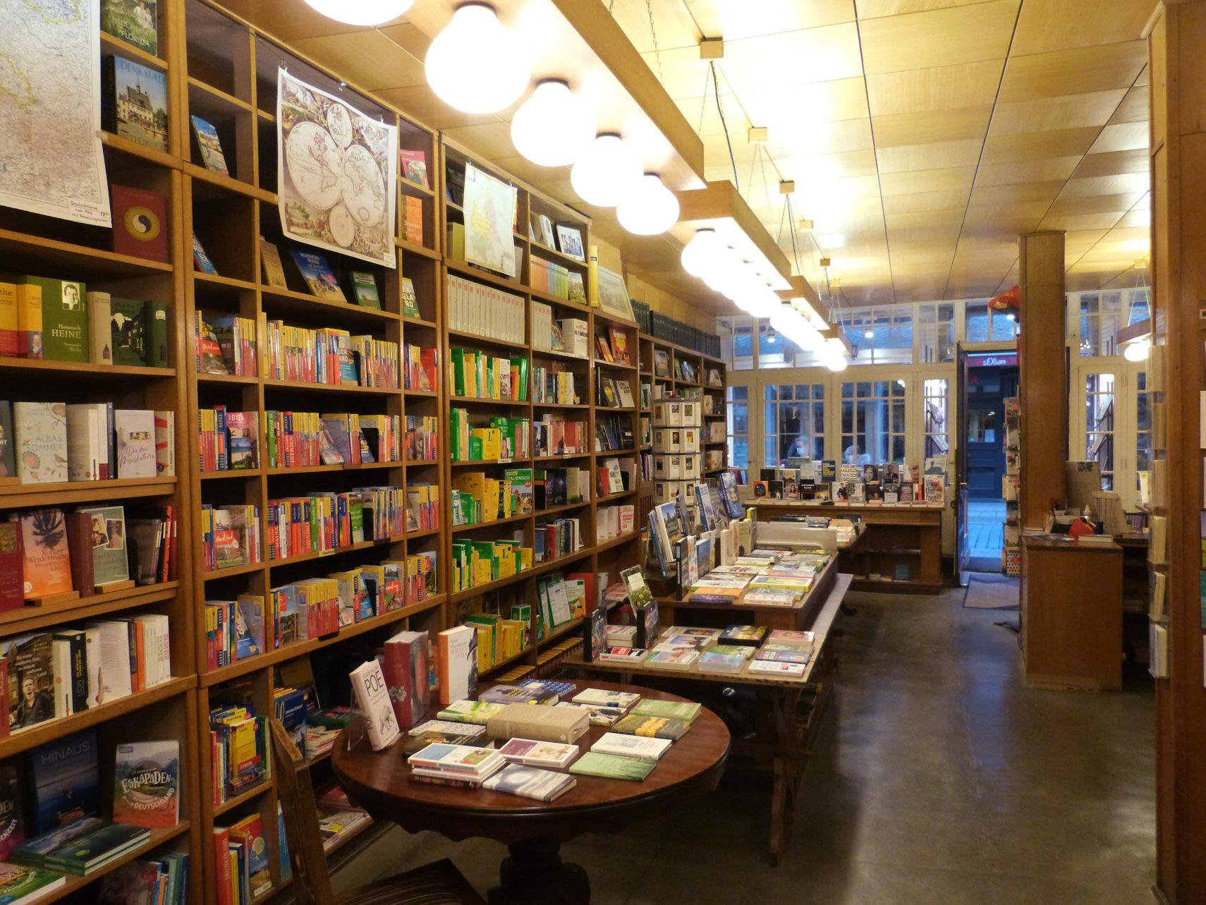 Buchhandlung Juettners Wernigerode Innenraum (4)