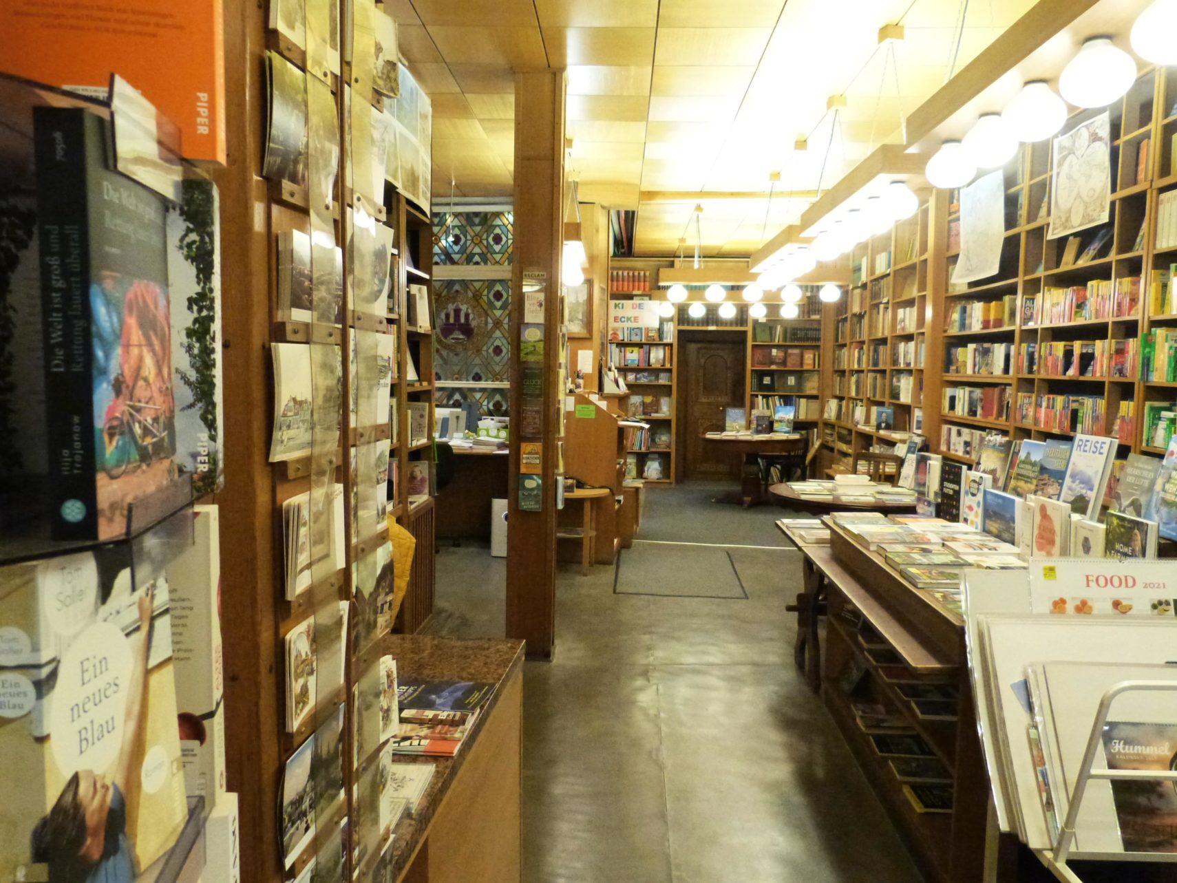 Buchhandlung Juettners Wernigerode Innenraum (7)